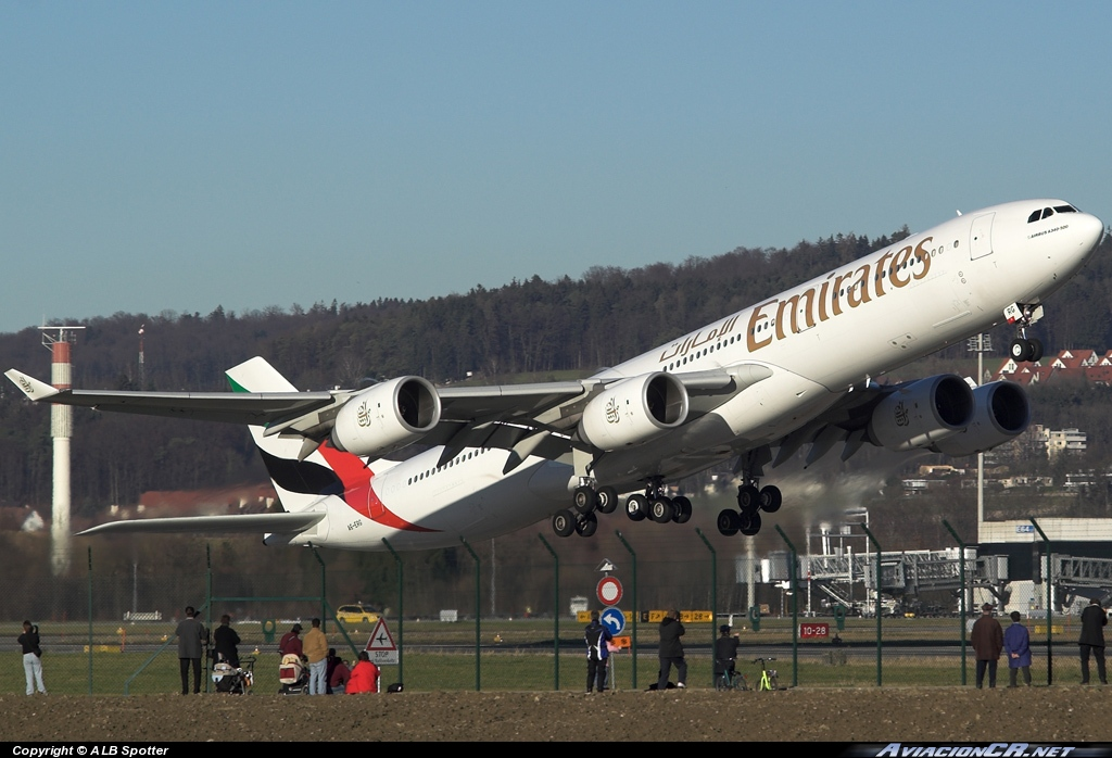 A6-ERG - Airbus A340-541 - Emirates