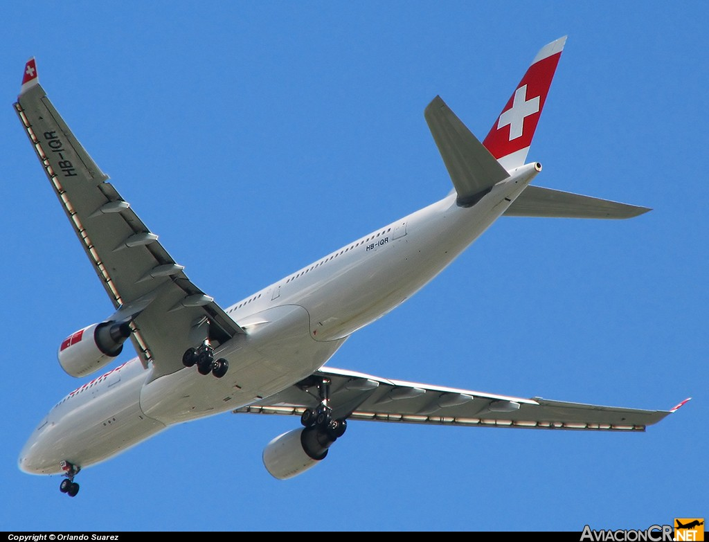 HB-IQR - Airbus A330-223 - Swiss International Air Lines