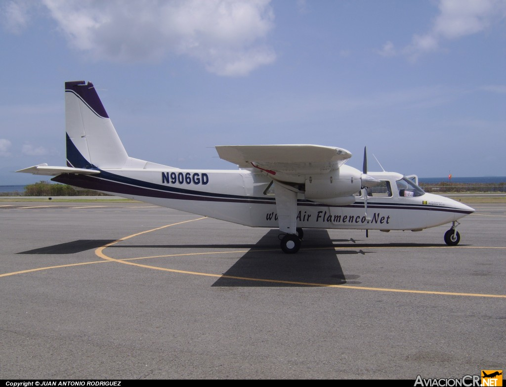 N906GD - Britten-Norman BN-2A Islander - Air Flamenco