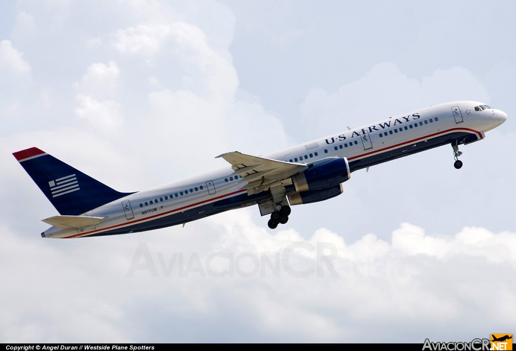 N917UW - Boeing 757-225 - US Airways