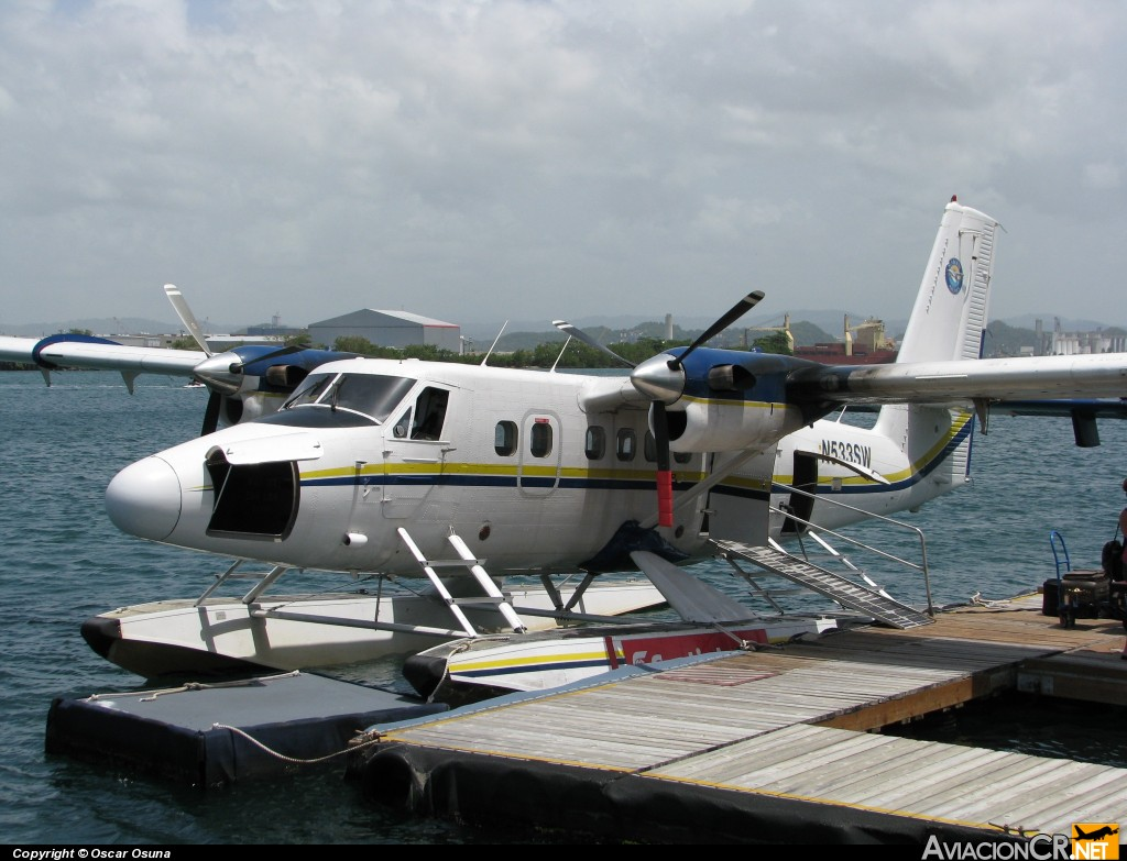 N533SW - De Havilland Canada DHC-6-300 Twin Otter - Seaborne AIrlines
