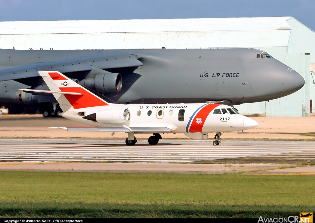 2117 - Dassault HU-25D Guardian (20G) - US Coast Guard