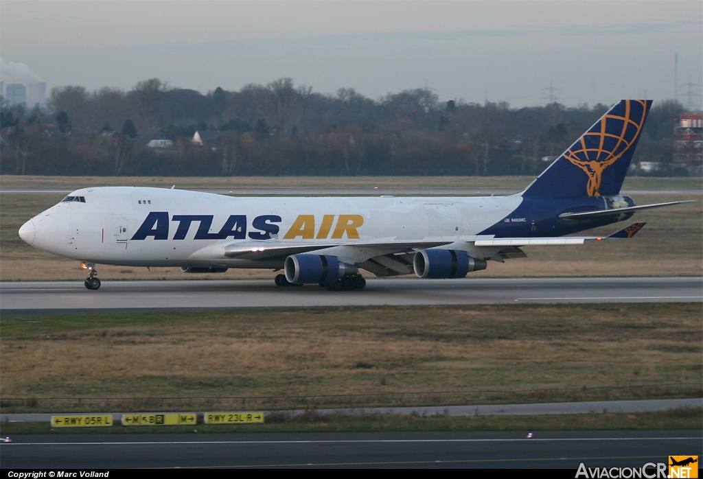 N493MC - Boeing 747-47UF/SCD - Atlas Air