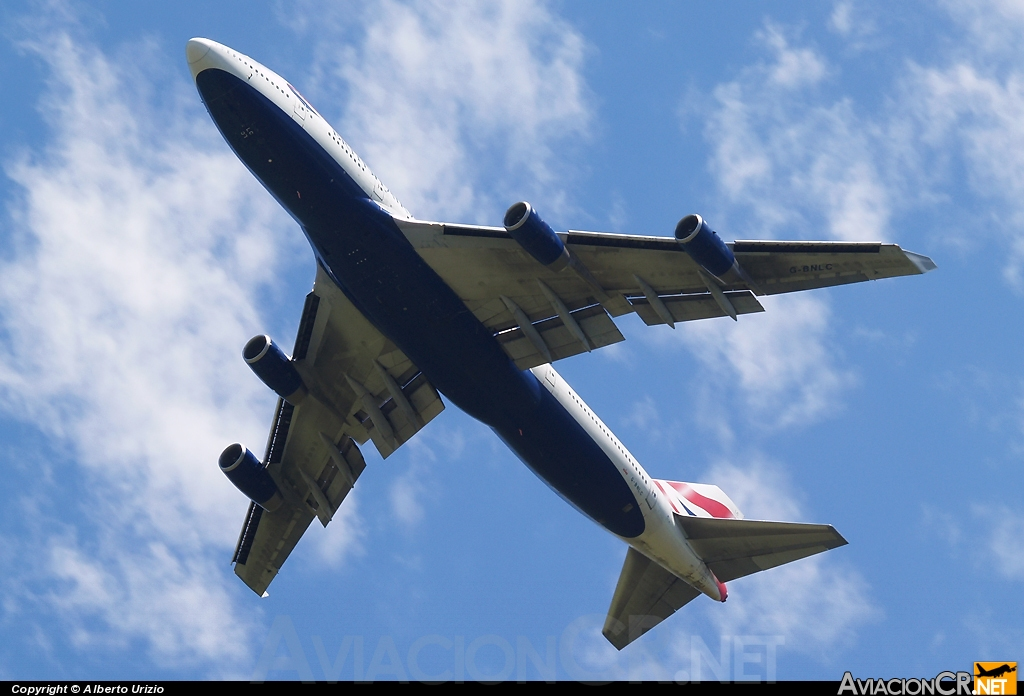 G-BNLC - Boeing 747-436 - British Airways