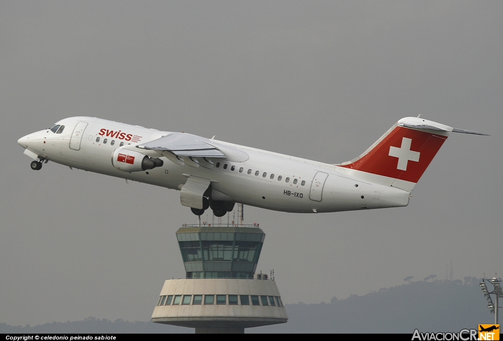 HB-IXO - British Aerospace BAe-146-100 - SWISS