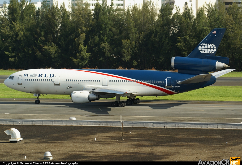 N137WA - McDonnell Douglas DC-10-30 - World Airways