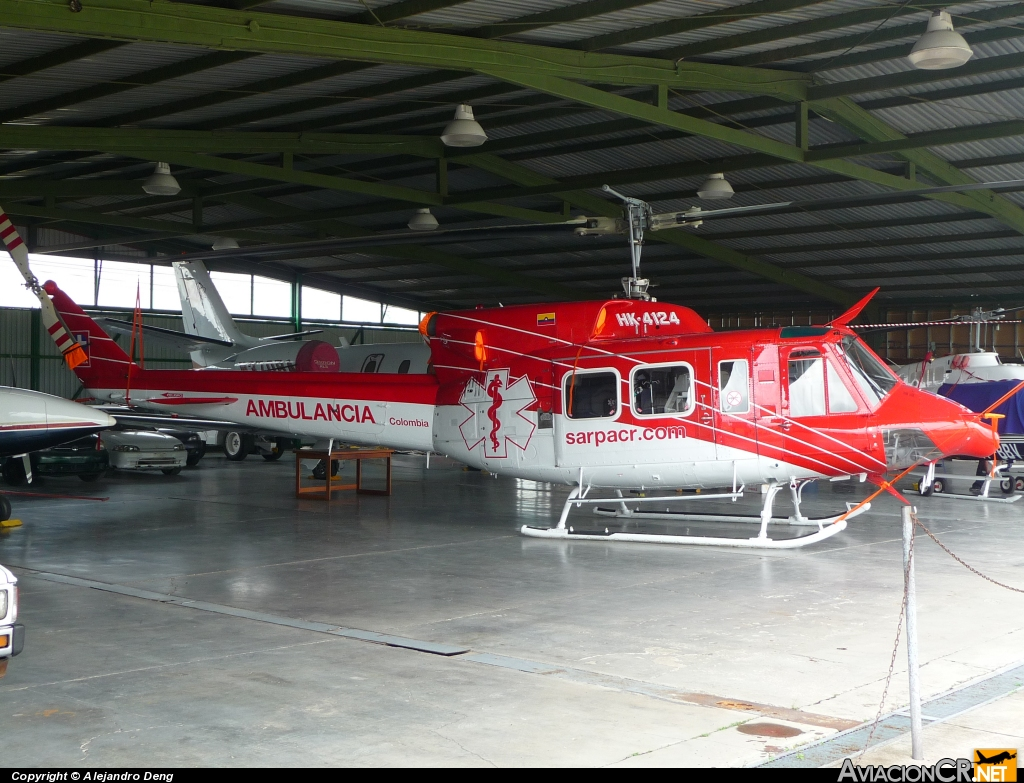 HK-4124 - Bell 212 - SARPA Colombia