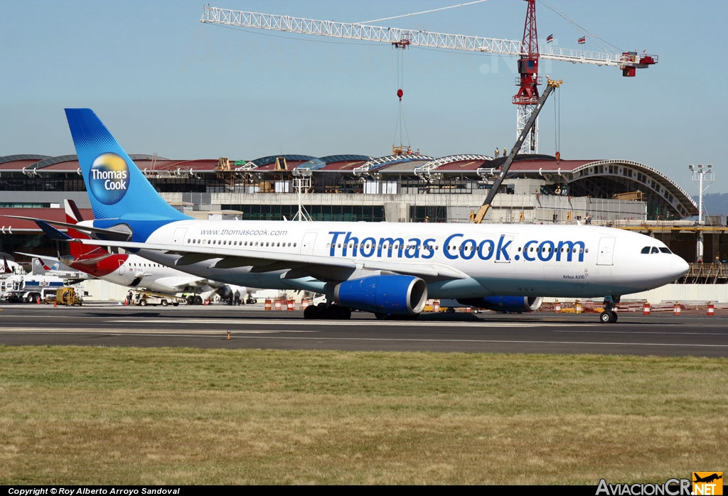 G-MDBD - Airbus A330-243 - Thomas Cook Airlines UK.
