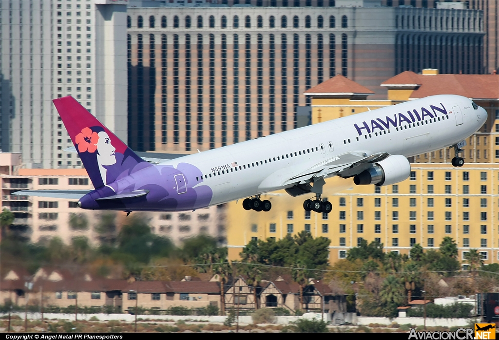 N591HA - Boeing 767-33A/ER - Hawaiian Airlines