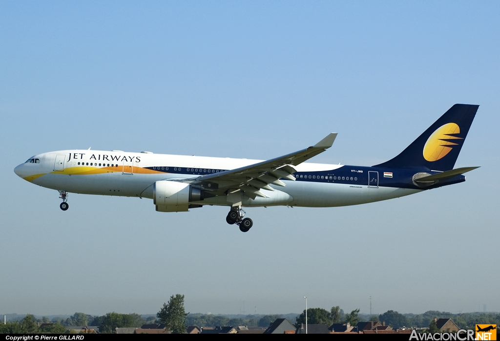 VT-JWG - Airbus A330-203 - Jet Airways