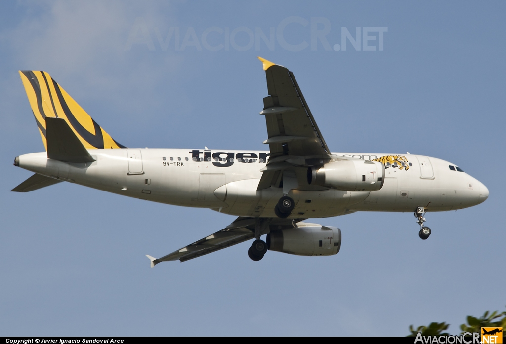 9V-TRA - Airbus A319-132 - Tiger Airways