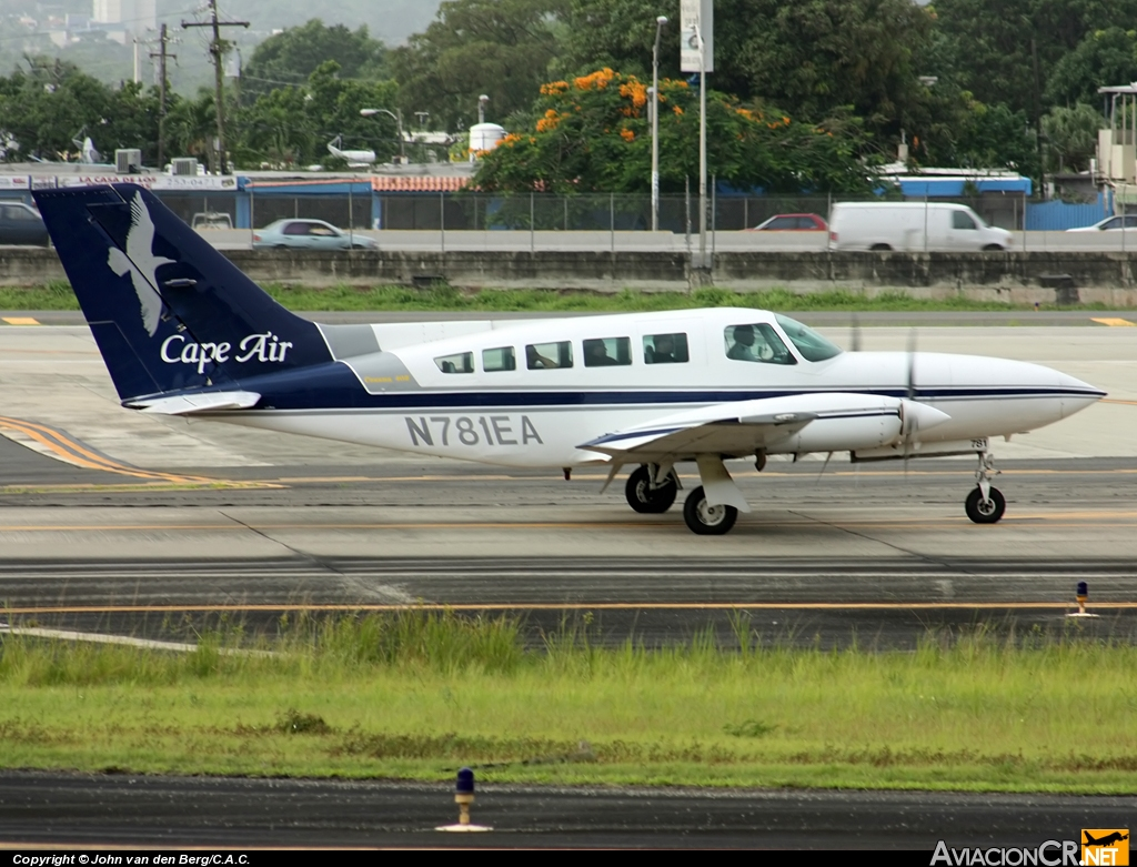 N781EA - Cessna 402C - Cape Air