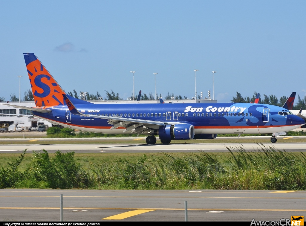 N804SY - Boeing 737-8Q8 - Sun Country