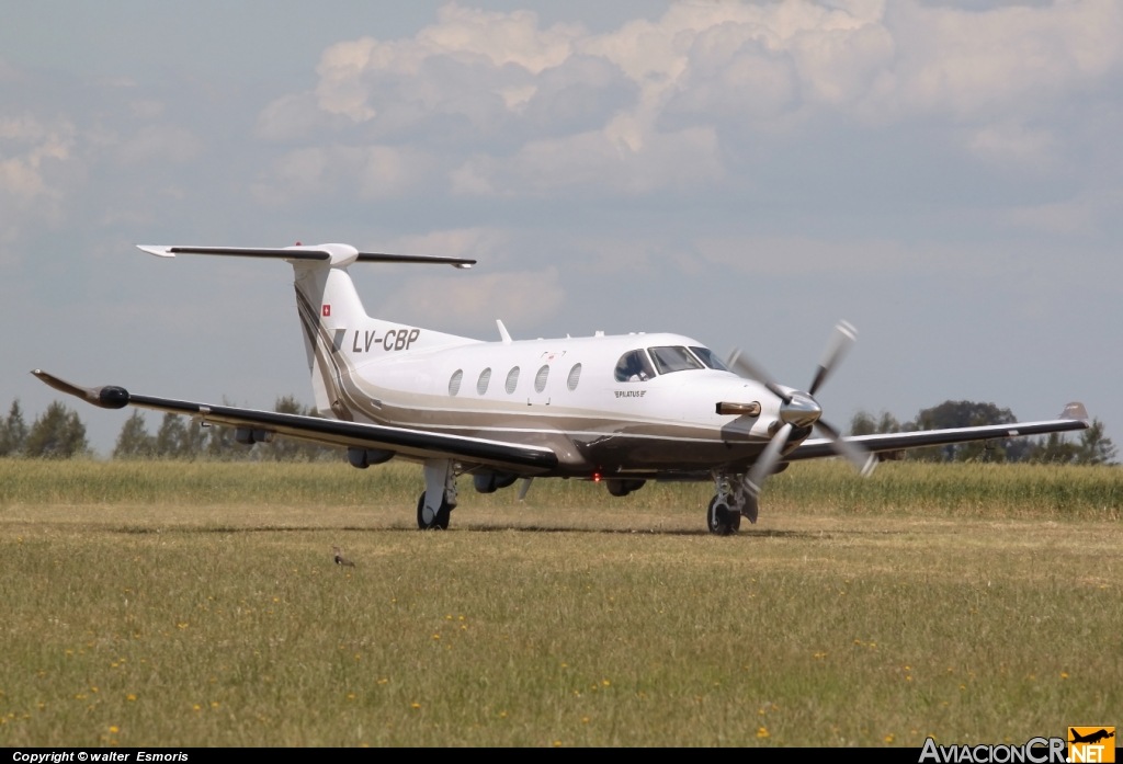 LV-CBP - Pilatus PC-12/47 - Privado