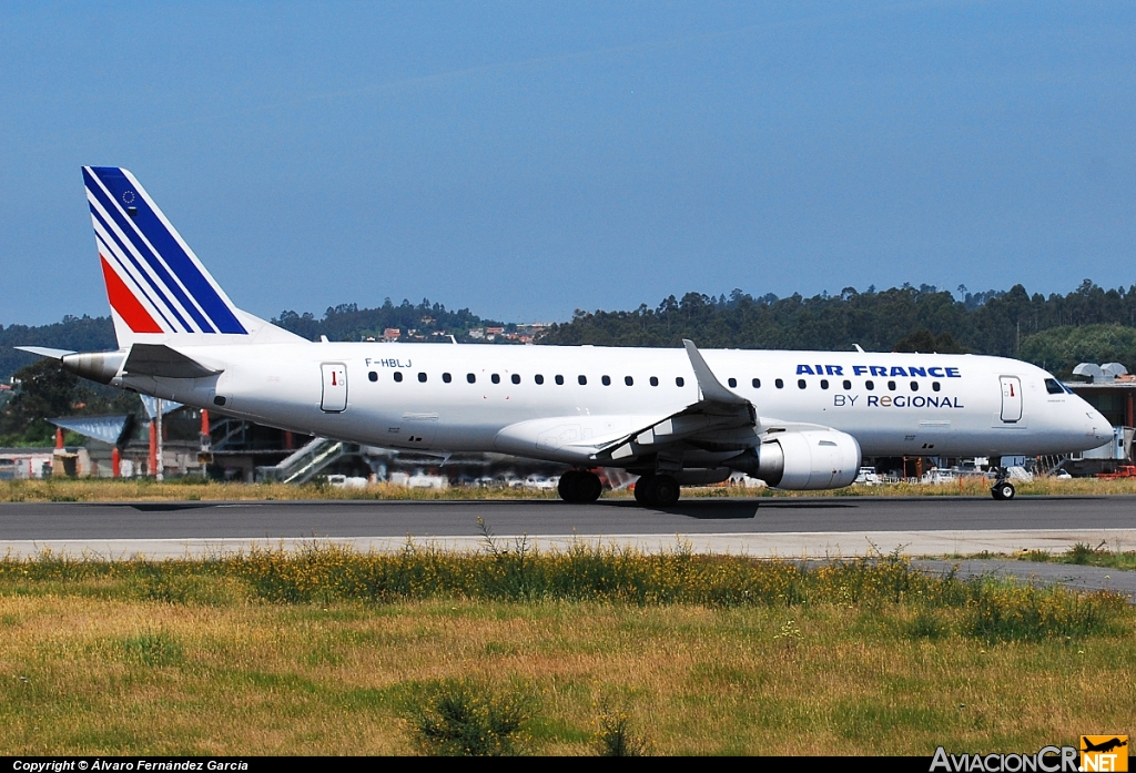 F-HBLJ - Embraer ERJ-190-100AR - Air France (Régional)