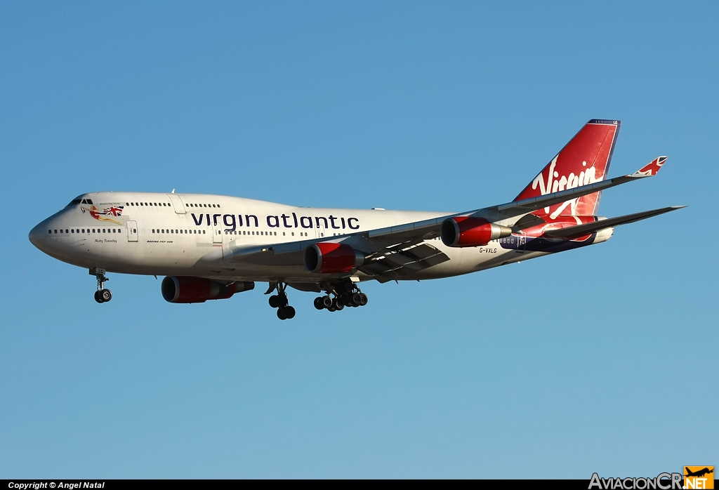 G-VXLG - Boeing 747-41R - Virgin Atlantic