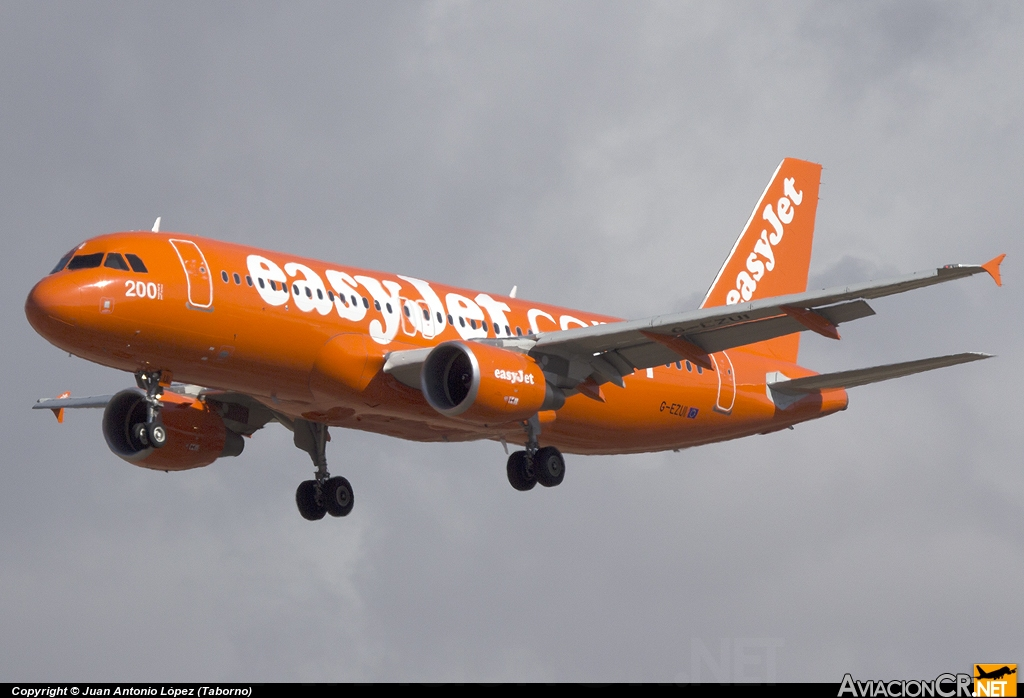 G-EZUI - Airbus A320-214 - EasyJet Airline