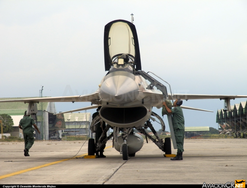 4226 - General Dynamics F-16A Fighting Falcon - Venezuela - Aviacion Militar Venezolana