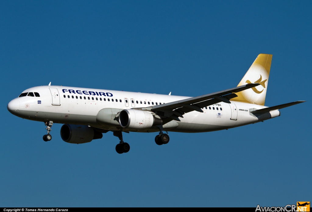 TC-FBH - Airbus A320-214 - Free Bird Airlines