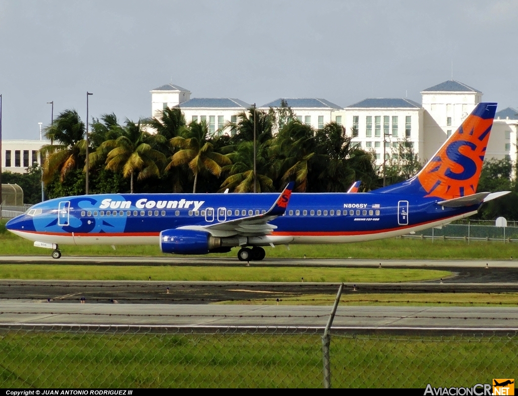 N806SY - Boeing 737-8Q8 - Sun Country