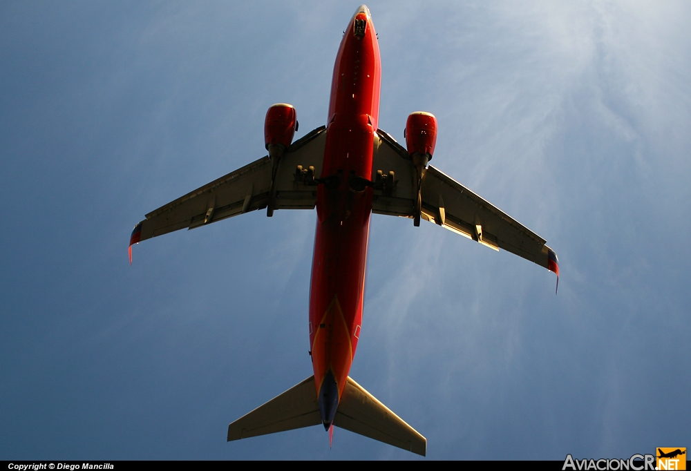 N***SW - Boeing 737-7H4 - Southwest Airlines