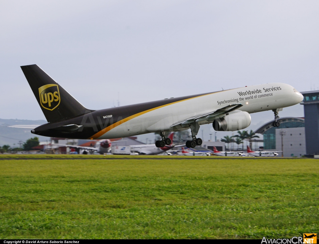 N470UP - Boeing 757-24A(PF) - UPS - United Parcel Service