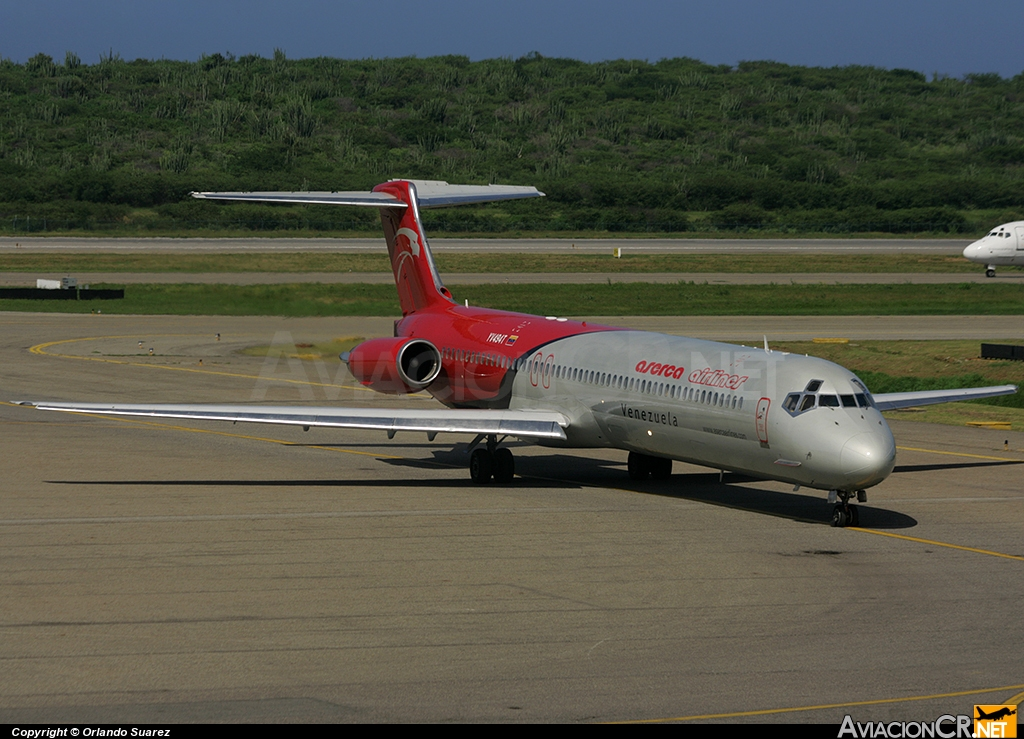 YV494T - McDonnell Douglas MD-83 (DC-9-83) - Aserca Airlines