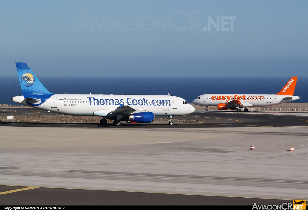 G-CRPH - Airbus A320-231 - Thomas Cook