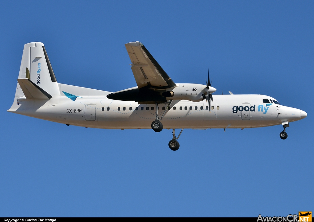 SX-BRM - Fokker 50 - Good Fly