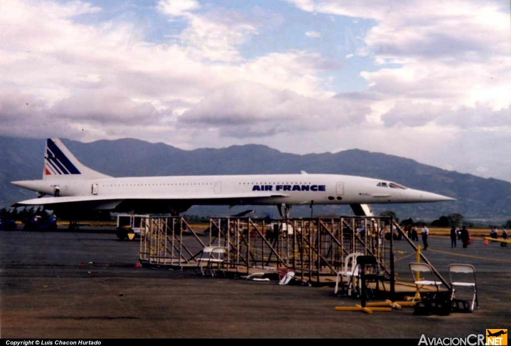 F-BTSD - Aerospatiale-British Aerospace Concorde 101 - Air France