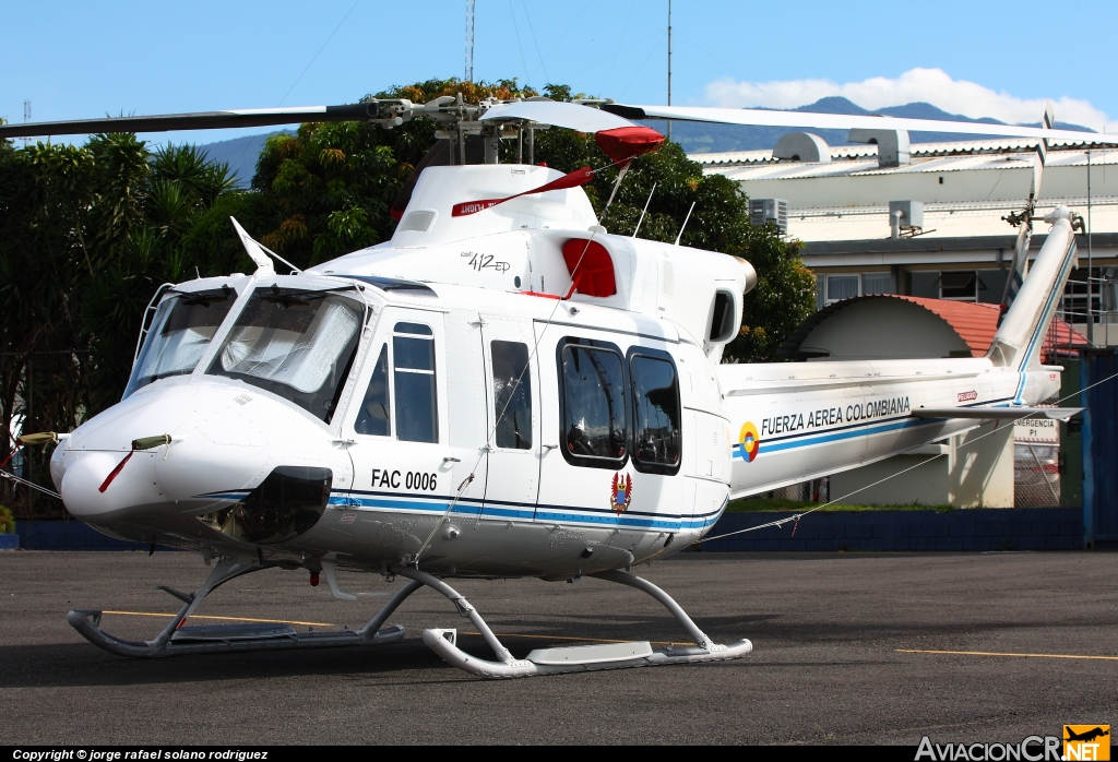 FAC0006 - Bell 412EP - Fuerza Aérea Colombiana