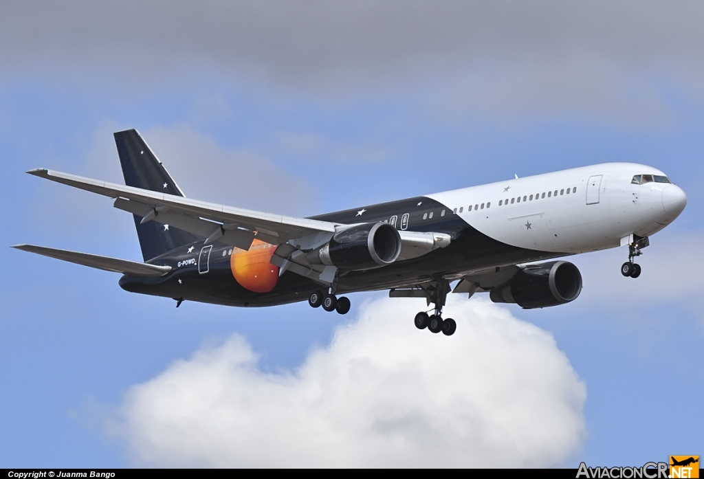 G-POWD - Boeing 767-36N/ER - Titan Airways