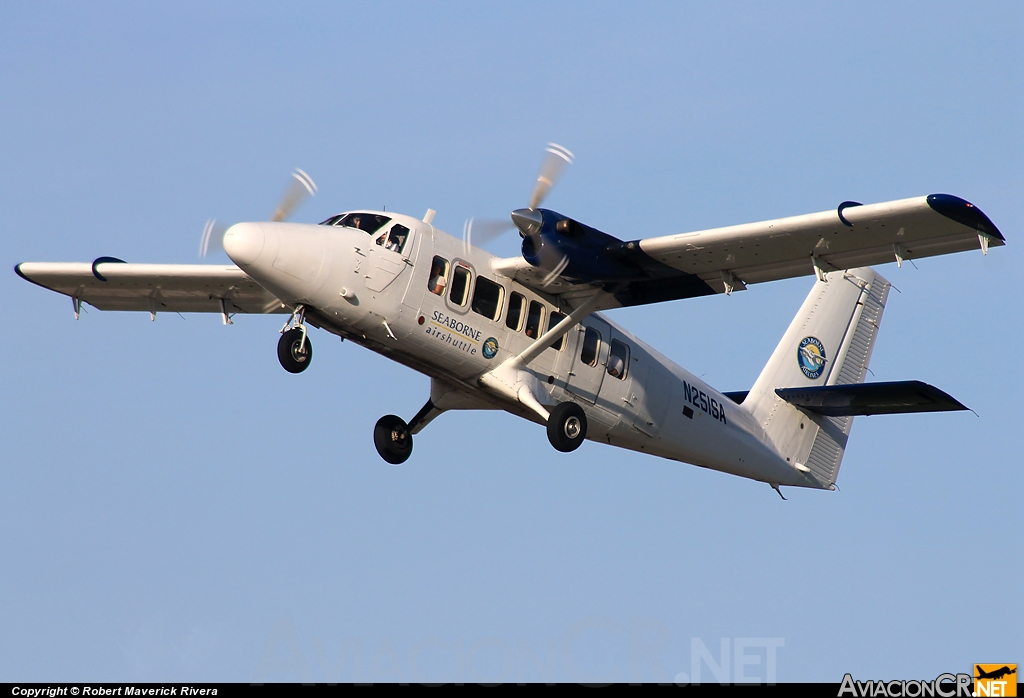 N251SA - De Havilland Canada DHC-6-300 Twin Otter/VistaLiner - Seaborne AIrlines