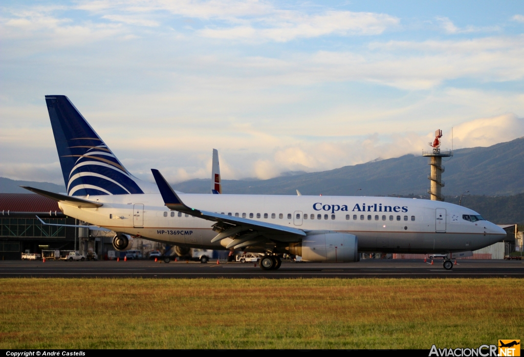 HP-1369CMP - Boeing 737-71Q - Copa Airlines