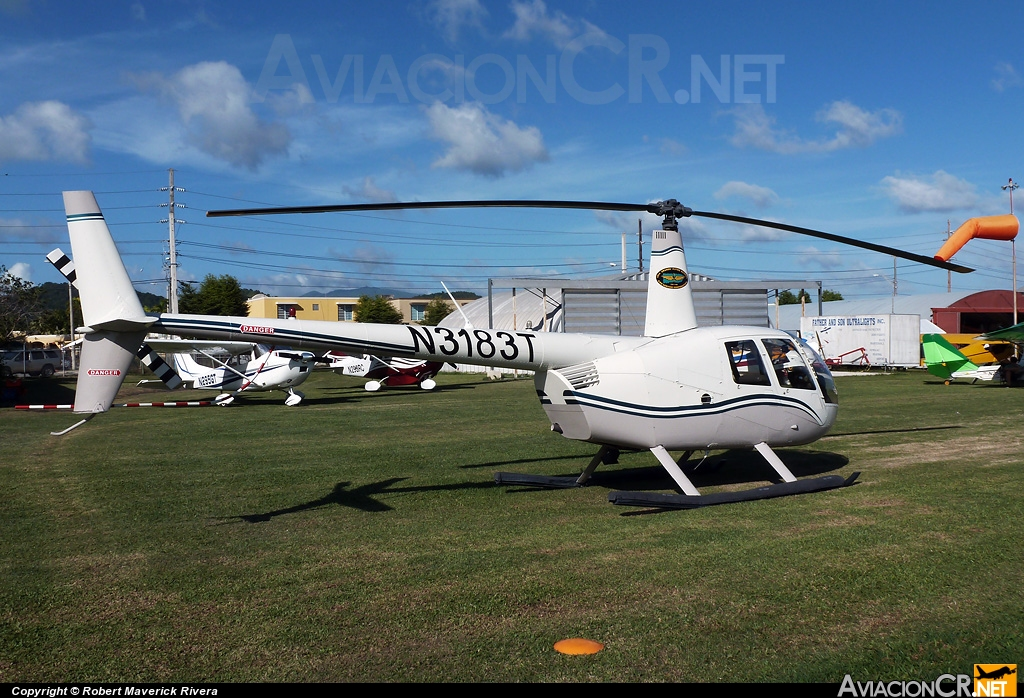 N3183T - Robinson R44 Clipper II - Isla Grande Flying School