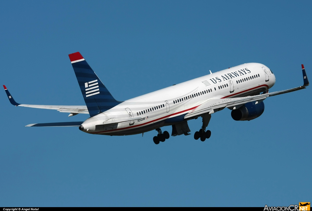 N202UW - Boeing 757-2B7 - US Airways