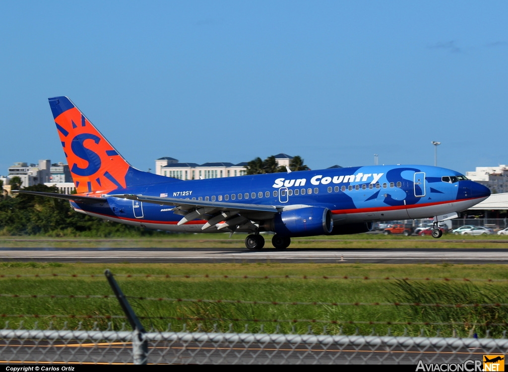 N712SY - Boeing 737-7Q8 - Sun Country