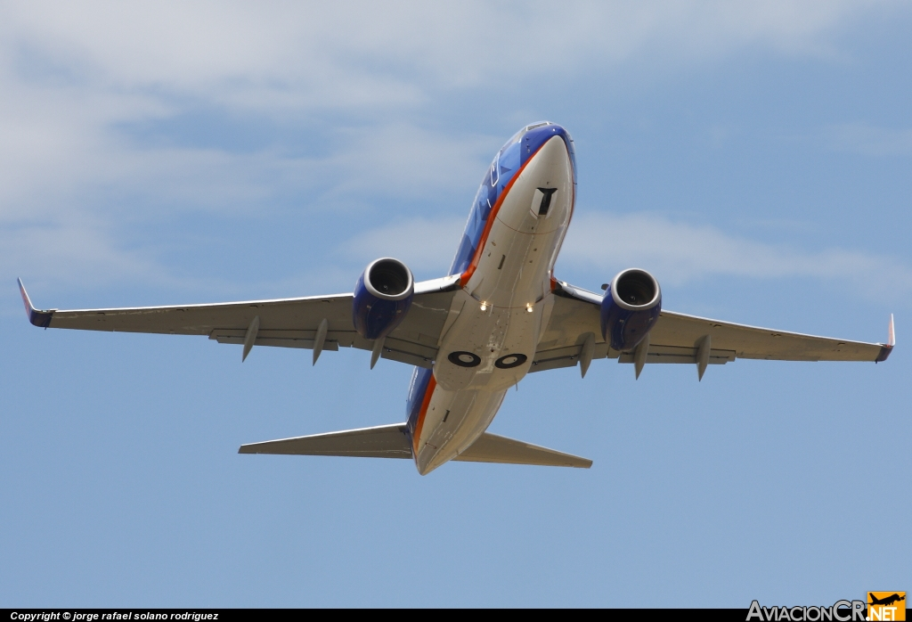 N850AM - Boeing 737-752 - Sun Country