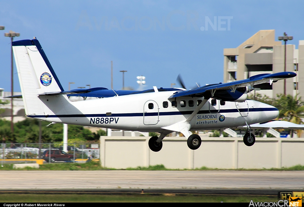 N888PV - De Havilland Canada DHC-6-300 Twin Otter - Seaborne AIrlines