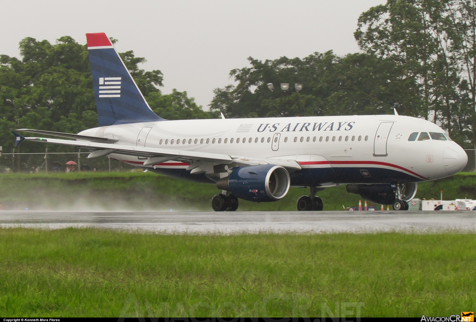N741UW - Airbus A319-112 - US Airways