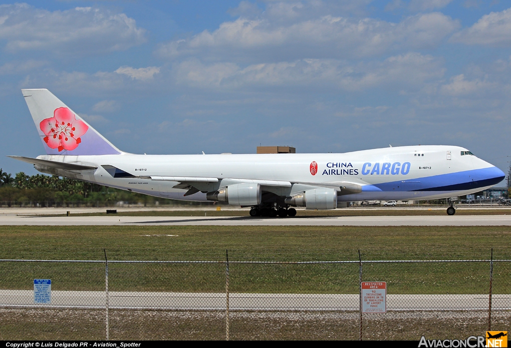 B-18712 - Boeing 747-409F/SCD - China Airlines Cargo