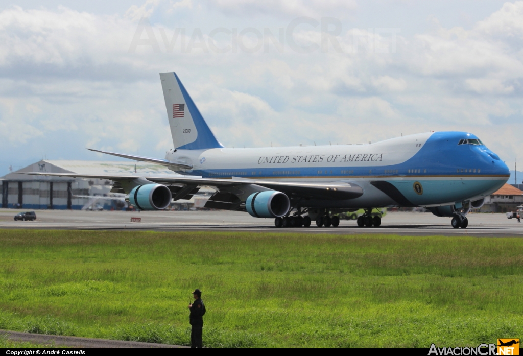 92-9000 - Boeing VC-25A (747-2G4B) - U.S. Air Force