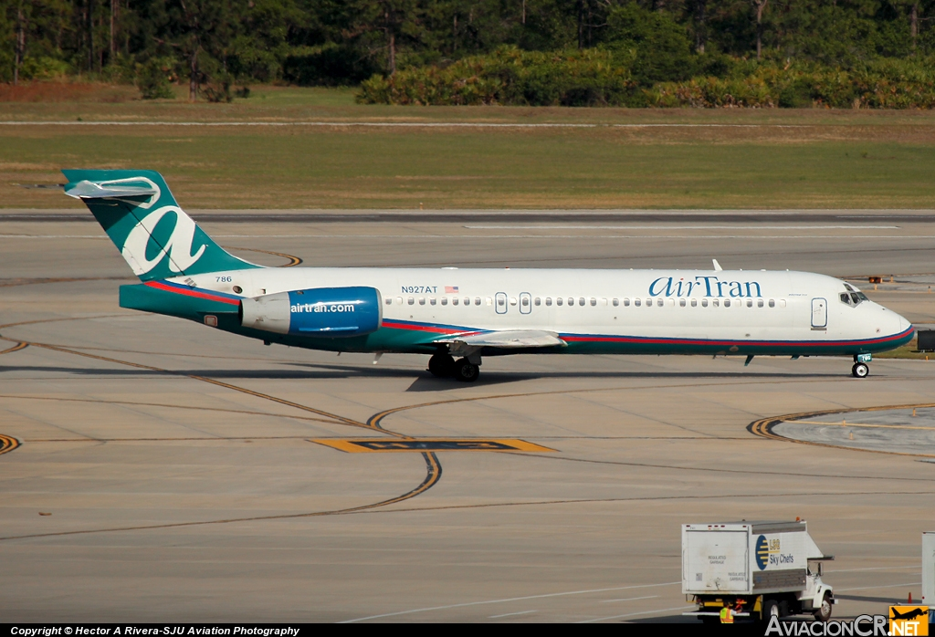 N927AT - Boeing 717-231 - Air Tran