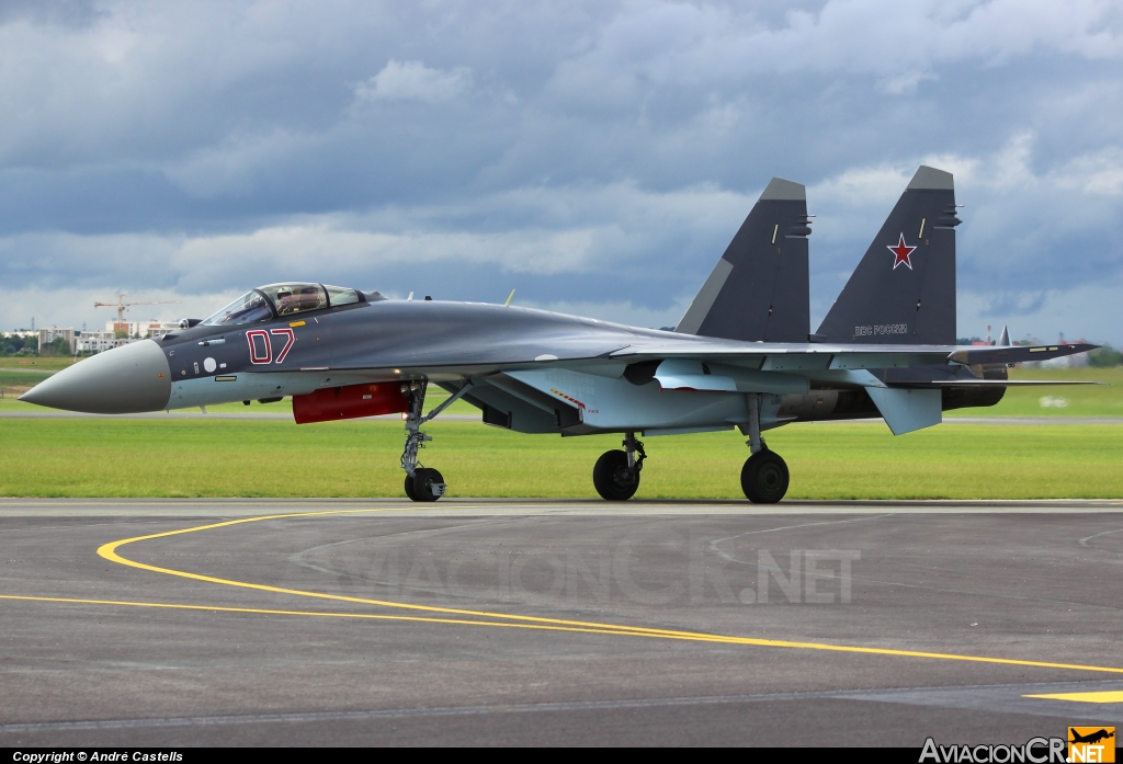 07 - Sukhoi Su-35 - Russia - Air Force