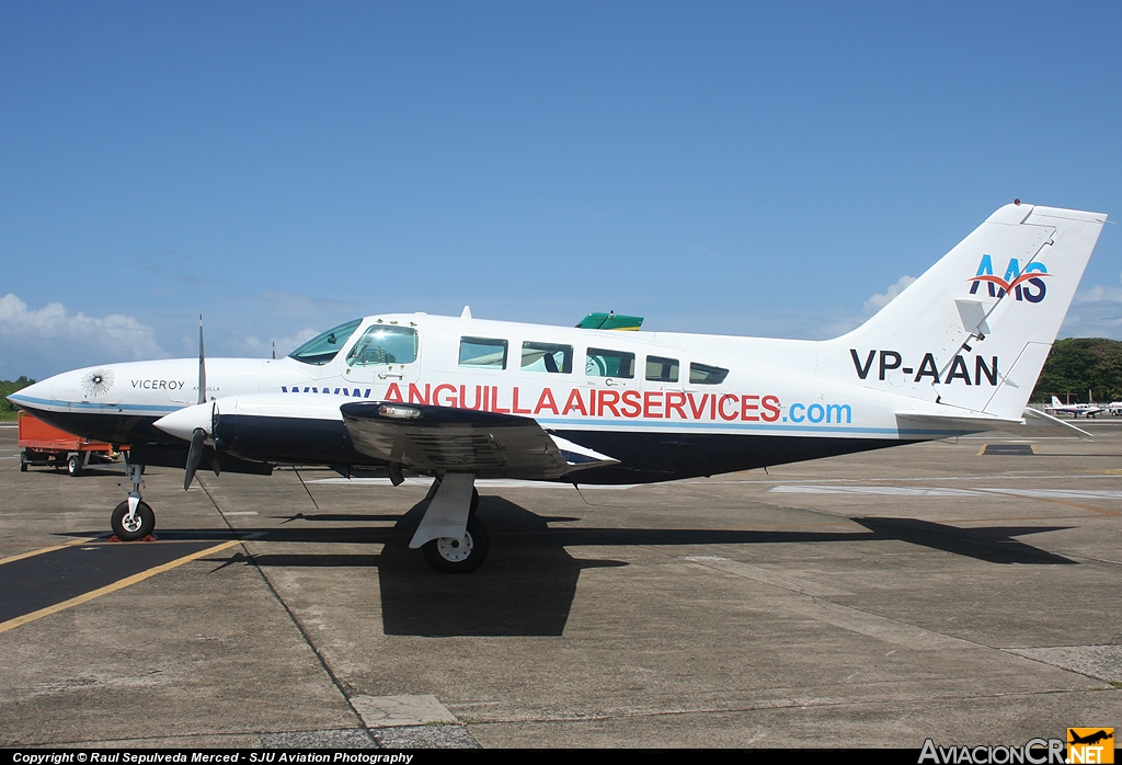VP-AAN - Cessna 402C - Anguilla Air Services
