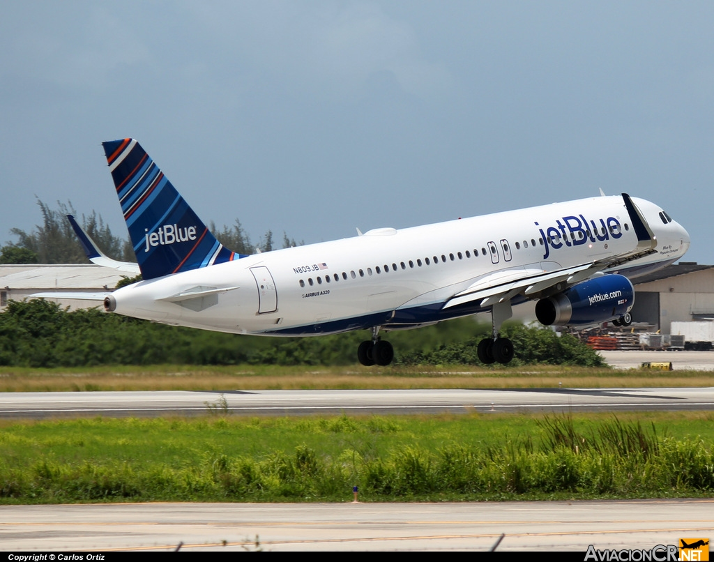 N809JB - Airbus A320-232 - jetBlue Airways