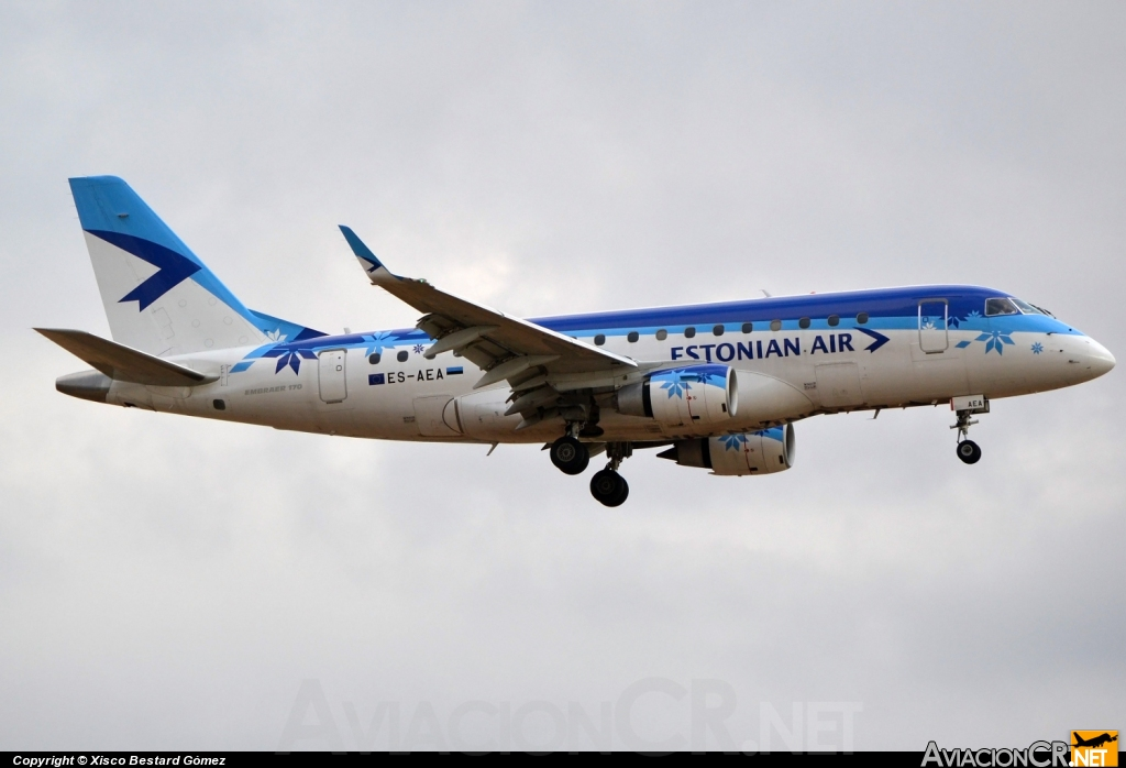 ES-AEA - Embraer ERJ-170-100LR - Estonian Air