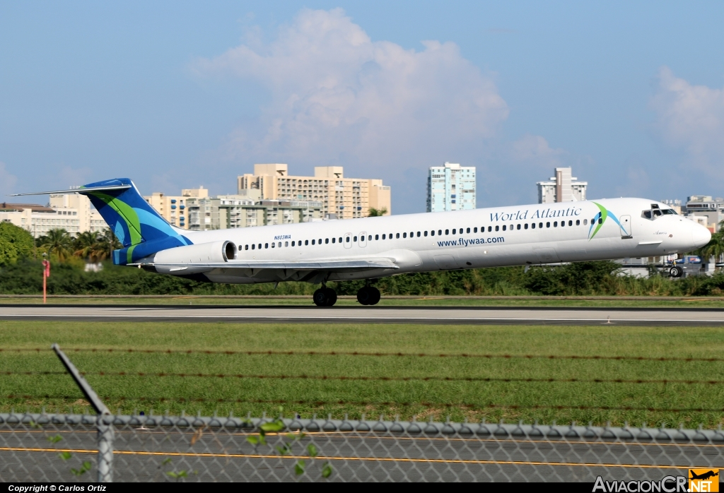 N803WA - McDonnell Douglas MD-82 (DC-9-82) - World Atlantic Airlines
