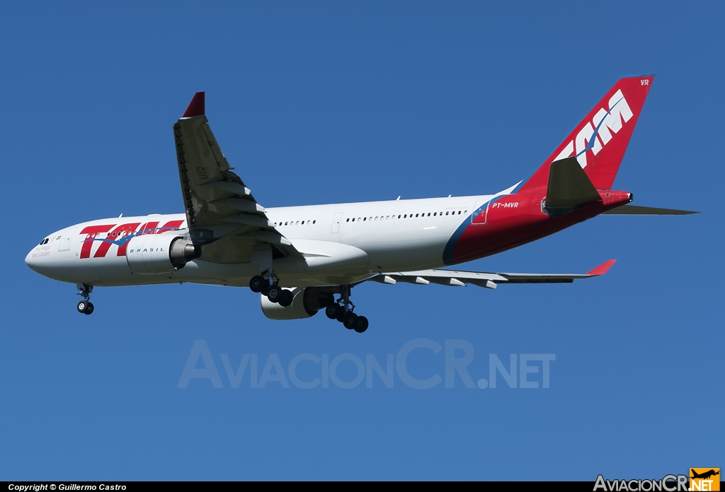 PT-MVR - Airbus A330-223 - TAM