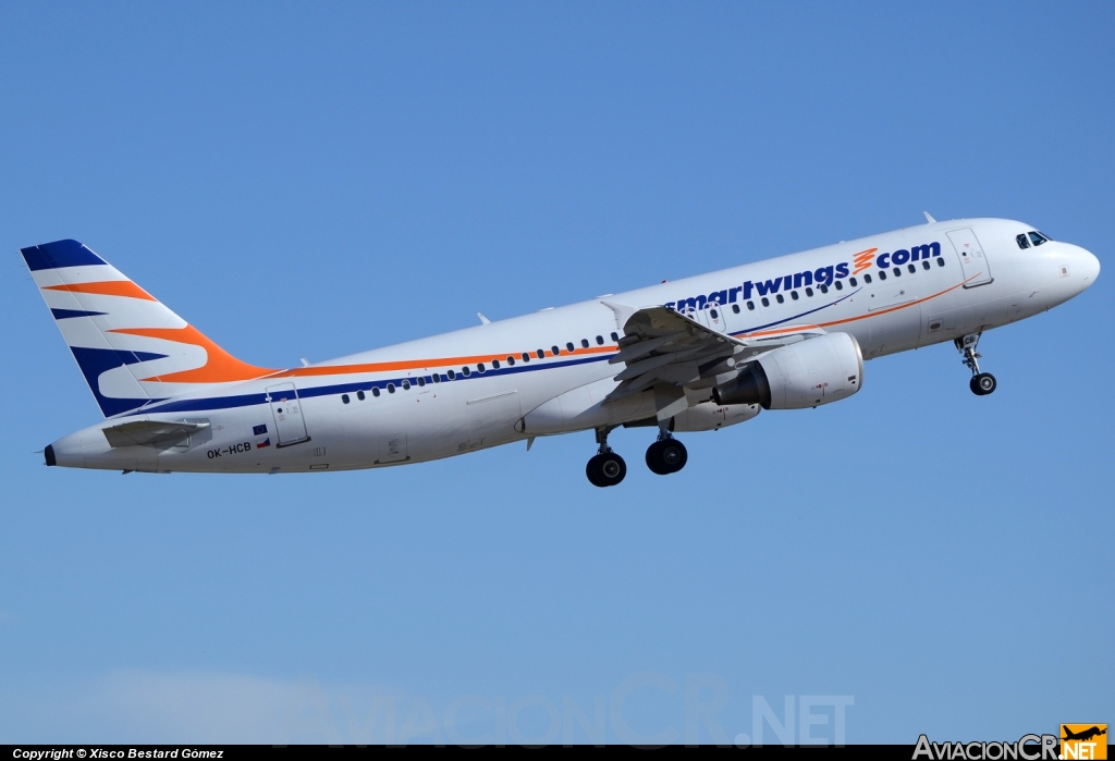 OK-HCB - Airbus A320-214 - Smartwings